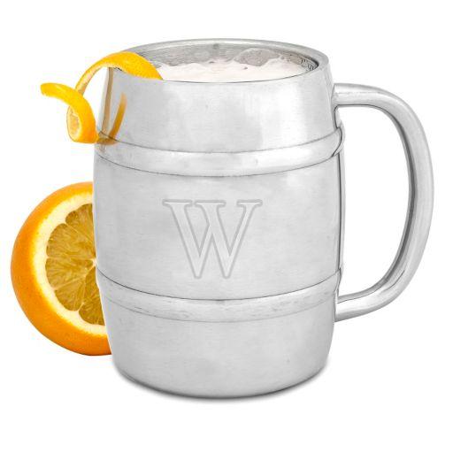 Cathy's Concepts Monogram Double-Wall Insulated Keg Mug