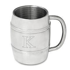 Cathy's Concepts Monogram Double-Wall Insulated Keg Mug