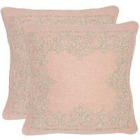 Safavieh 2 pc Florentine Throw Pillow Set