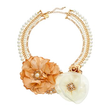 GS by gemma simone Fresh Cut Flowers Collection Multistrand Necklace