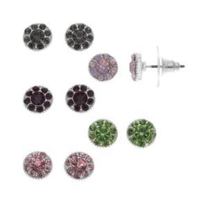 Flower Stud Earring Set