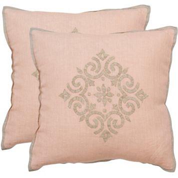 Safavieh 2-piece Regina Throw Pillow Set