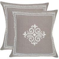 Safavieh 2-piece Charleroi Throw Pillow Set