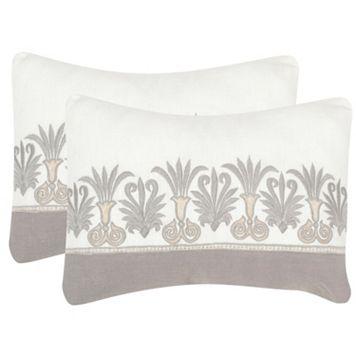 Safavieh 2-piece Royal Palm Throw Pillow Set