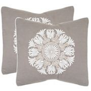 Safavieh 2 pc Versailles Throw Pillow Set