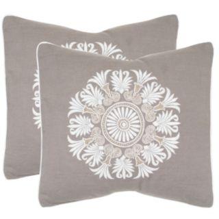 Safavieh 2-piece Versailles Throw Pillow Set