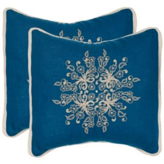 Safavieh 2-piece Castello Throw Pillow Set