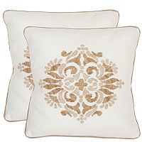 Safavieh 2-piece Margherite Throw Pillow Set
