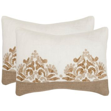 Safavieh 2-piece Marseille Throw Pillow Set