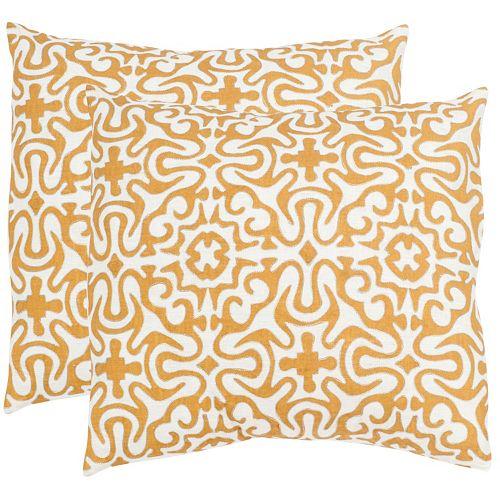 Safavieh 2-piece Quixote Throw Pillow Set