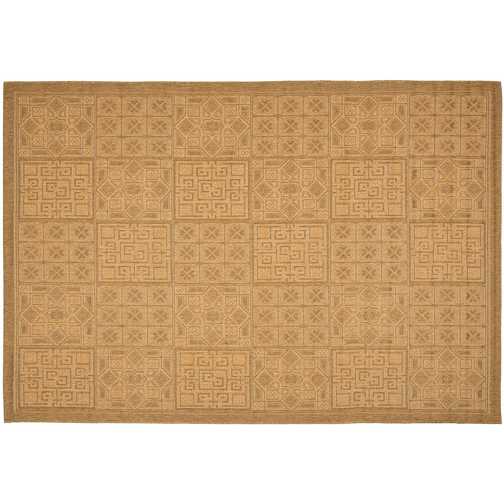 Safavieh Courtyard Tile Indoor Outdoor Patio Rug