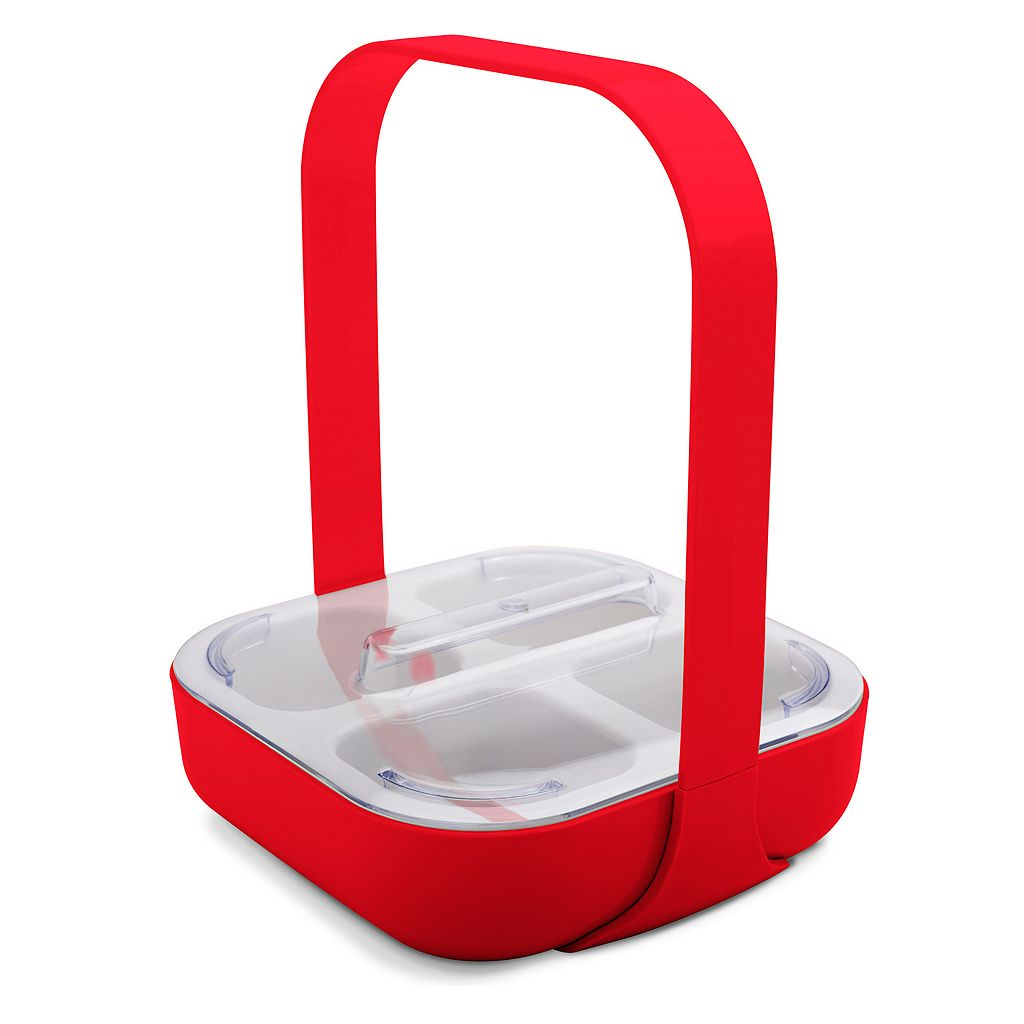Zak Designs KtoT 4-Section Condiment Caddy