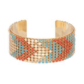 GS by gemma simone Sun Salutation Chevron Cuff Bracelet
