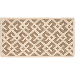 Safavieh Courtyard Geometric Indoor Outdoor Rug