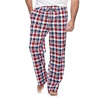 Big & Tall Croft & Barrow® Plaid Lounge Pants