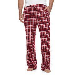 Big & Tall Croft & Barrow® Plaid Lounge Pants