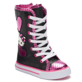 Hello Kitty® Zowie Toddler Girls' High-Top Sneakers