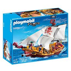 Playmobil Red Serpent Pirate Ship Playset 5618 by