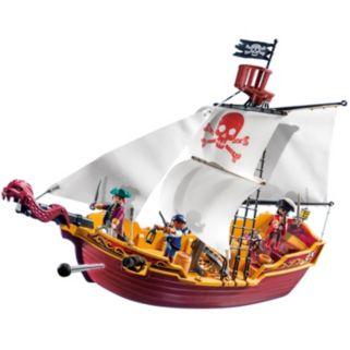 Playmobil Red Serpent Pirate Ship Playset - 5618