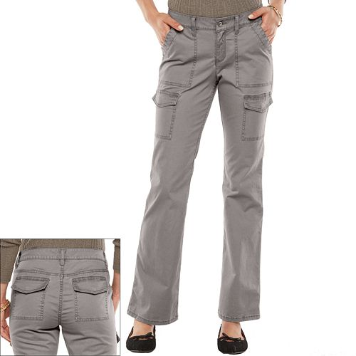 b01497c2 SONOMA Goods for Life™ Bootcut Utility Pants - Women's