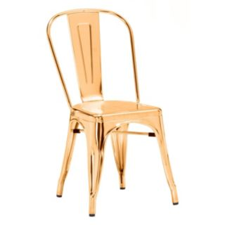 Zuo Era Elio Metallic Dining Chair 2-piece Set