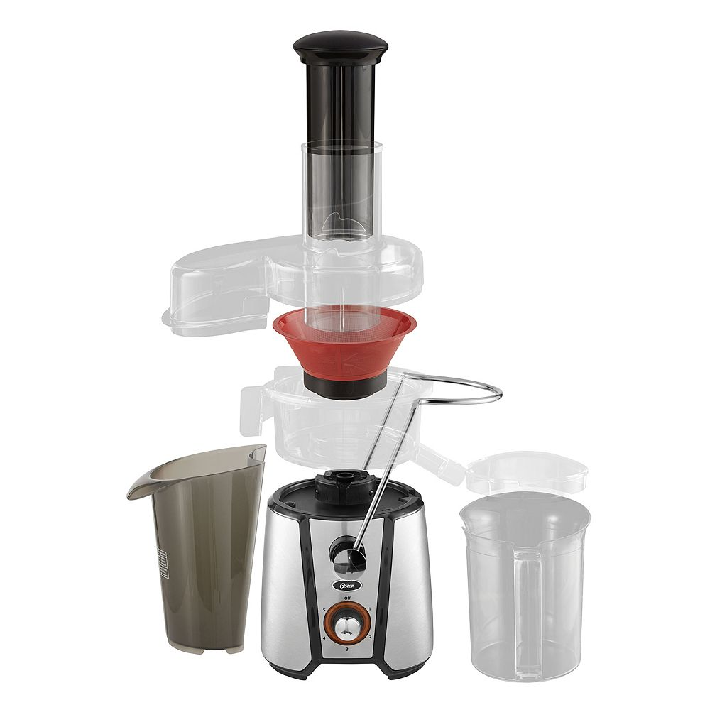 Oster 5-Speed Wide-Mouth Juicer