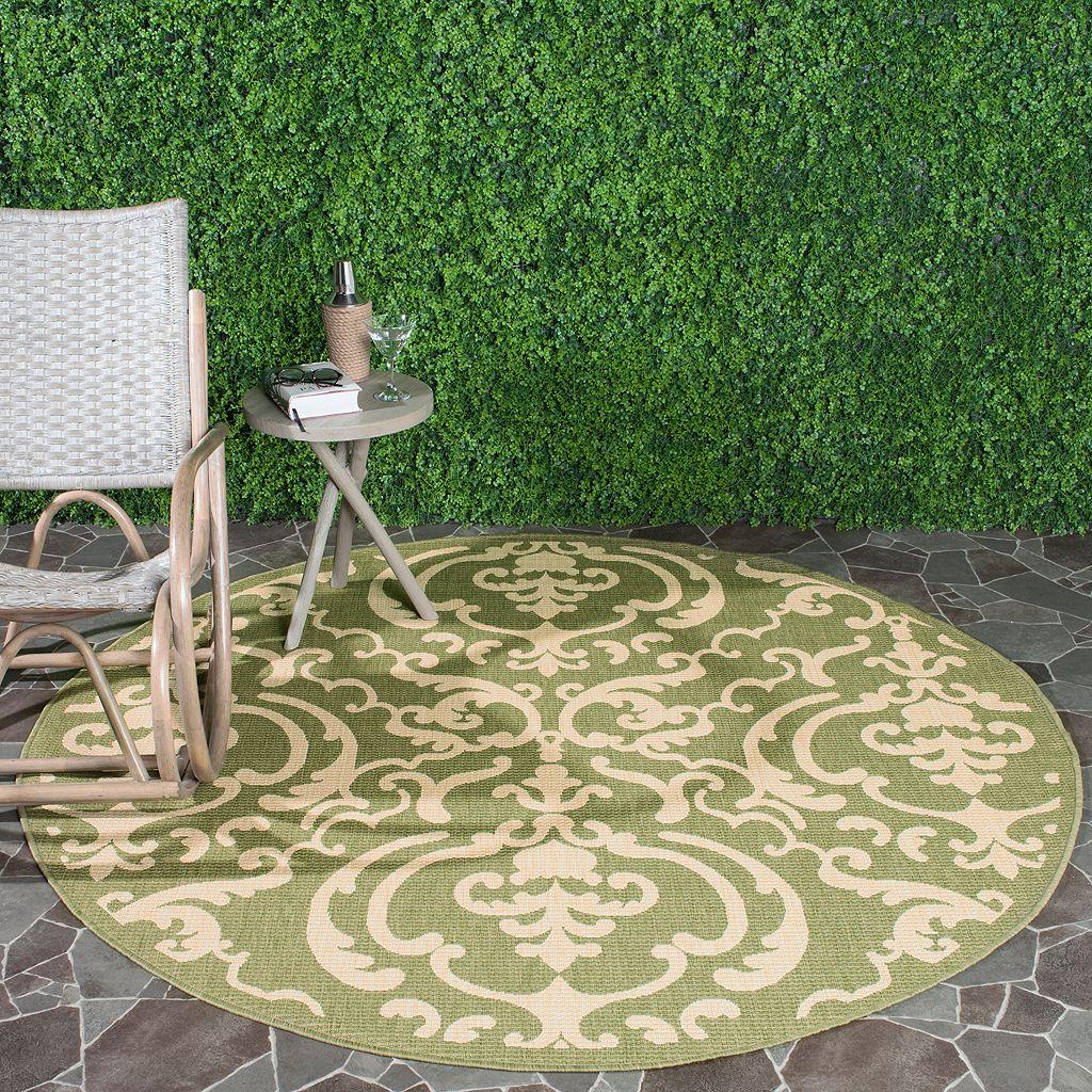 Safavieh Courtyard Decorative Indoor Outdoor Rug