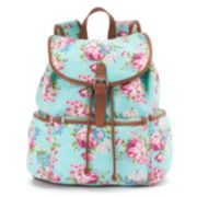 Candie's® Nicole Floral Backpack