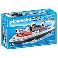 Playmobil Coastal Rescue Boat Playset - 5625