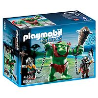 Playmobil Giant Troll with Dwarf Fighters - 6004