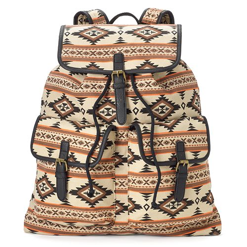 Mudd® Rachel Tribal Backpack