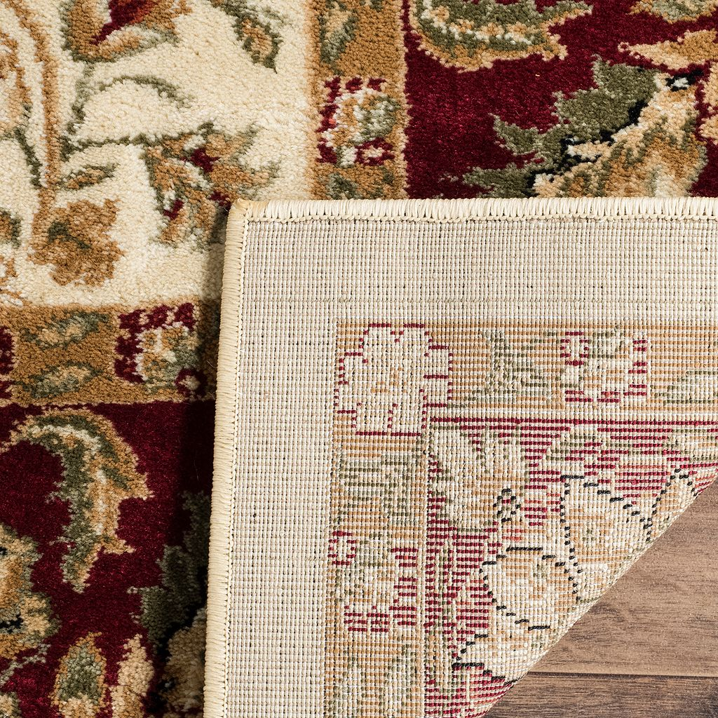 Safavieh Lyndhurst Elegant Framed Floral Rug