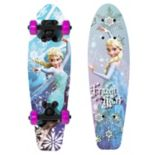 "Disney's Frozen Elsa ""Frozen Heart"" 21 in Wood Skateboard - Girls"
