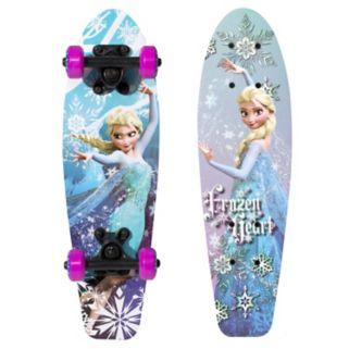 """Disney's Frozen Elsa """"Frozen Heart"""" 21-in. Wood Skateboard - Girls"""