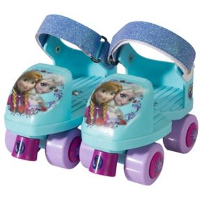 Disney's Frozen Glitter Roller Skates & Knee Pads Set - Girls
