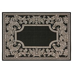 Safavieh Courtyard Rooster Indoor Outdoor Rug