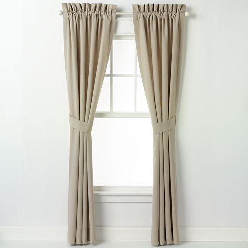 Chapel Hill by Croscill Seashore Window Curtain - 42'' x 84''