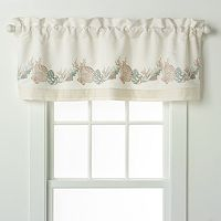 Chapel Hill by Croscill Seashore Window Valance - 54'' x 18''