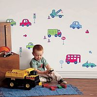 Fun4Walls Beep Beep Wall Decal Set