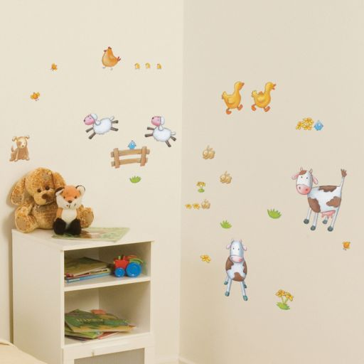 Fun4Walls Farm Wall Decal Set