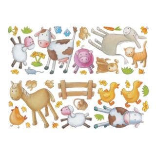 Fun4Walls Farm Wall Decal Set
