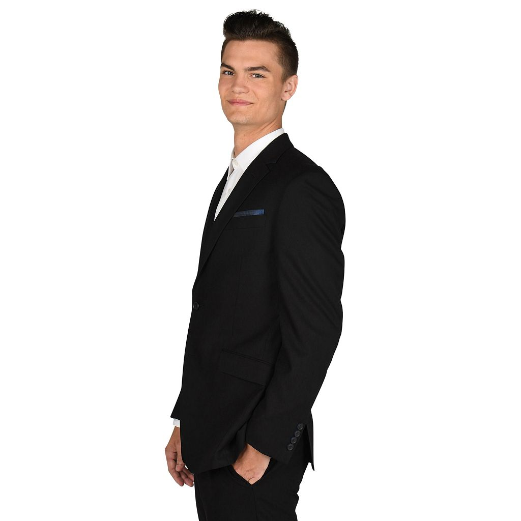 Men's Billy London Slim-Fit Black Suit Jacket