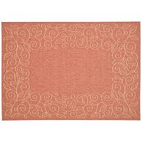Safavieh Courtyard Curly Vines Indoor Outdoor Rug