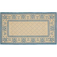 Safavieh Courtyard Geometric Diamond Indoor Outdoor Rug