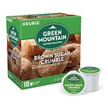 Keurig® K-Cup® Pod Green Mountain Brown Sugar Crumble Donut Medium Roast Regular Coffee - 18-pk.