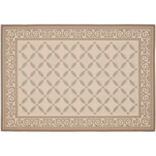 Safavieh Courtyard Vines Indoor Outdoor Patio Rug