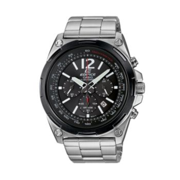 Casio Men's EDIFICE Stainless Steel Solar Chronograph Watch - EFR545SBDB-1BVCF
