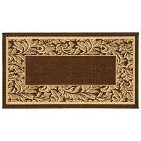Safavieh Courtyard Framed Indoor Outdoor Rug