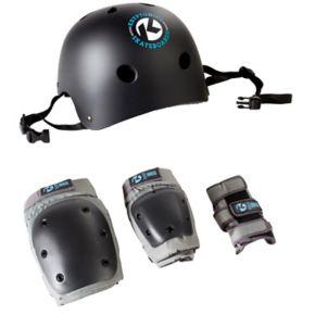 Kryptonics Helmet & Pads Set - Adult