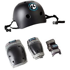 Kryptonics Helmet & Pads Set - Kids